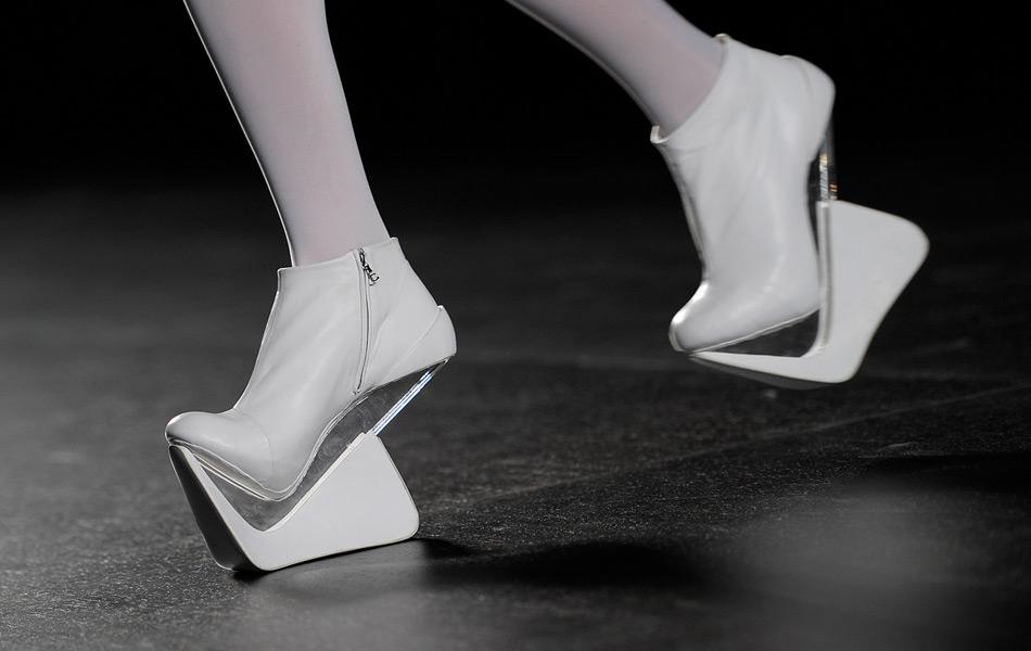 wacky shoe, fashion, Martinez Lierah, barcelona