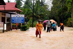 Banjir di Johor, 1,318 mangsa dipindahkan