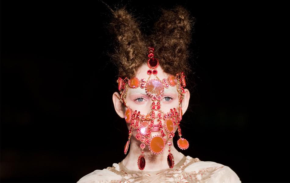 jewelled, head-piece, Lara Jensen, London, fashion, inbar spector