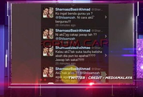 Sharnaaz lepaskan geram di Twitter? (Video)