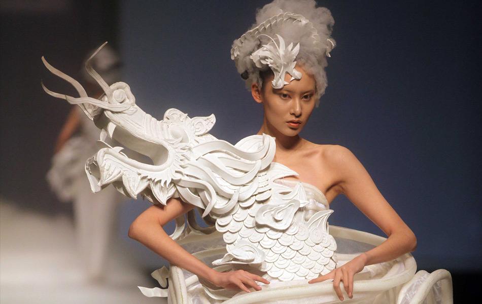 Xuming, Haute Couture, chinese, beijing, dragon