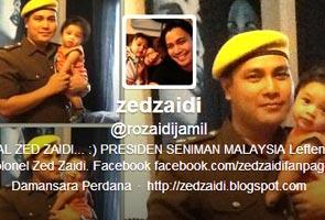 Zed Zaidi mohon maaf buat lawak pasal MH370