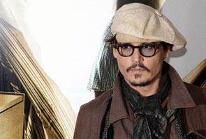 Johnny Depp curi tumpuan di Moscow