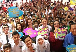 Oh My English! season two with Aaron Aziz