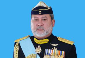 Sultan Johor titah solat hajat untuk perwira negara di Sabah