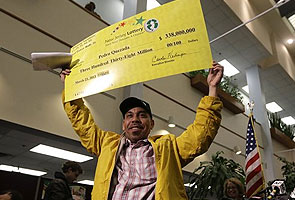 US immigrant wins $338 million lottery