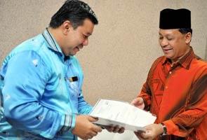 Speaker DUN Terengganu serah notis bubar
