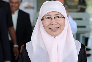 Wan Azizah calon MB Selangor baharu