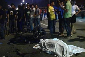 Dua peserta konvoi motosikal ke Desaru terbunuh