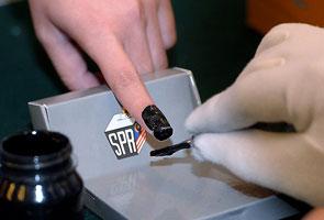 SPR: Dakwat kekal tidak boleh dipadam, polis setuju