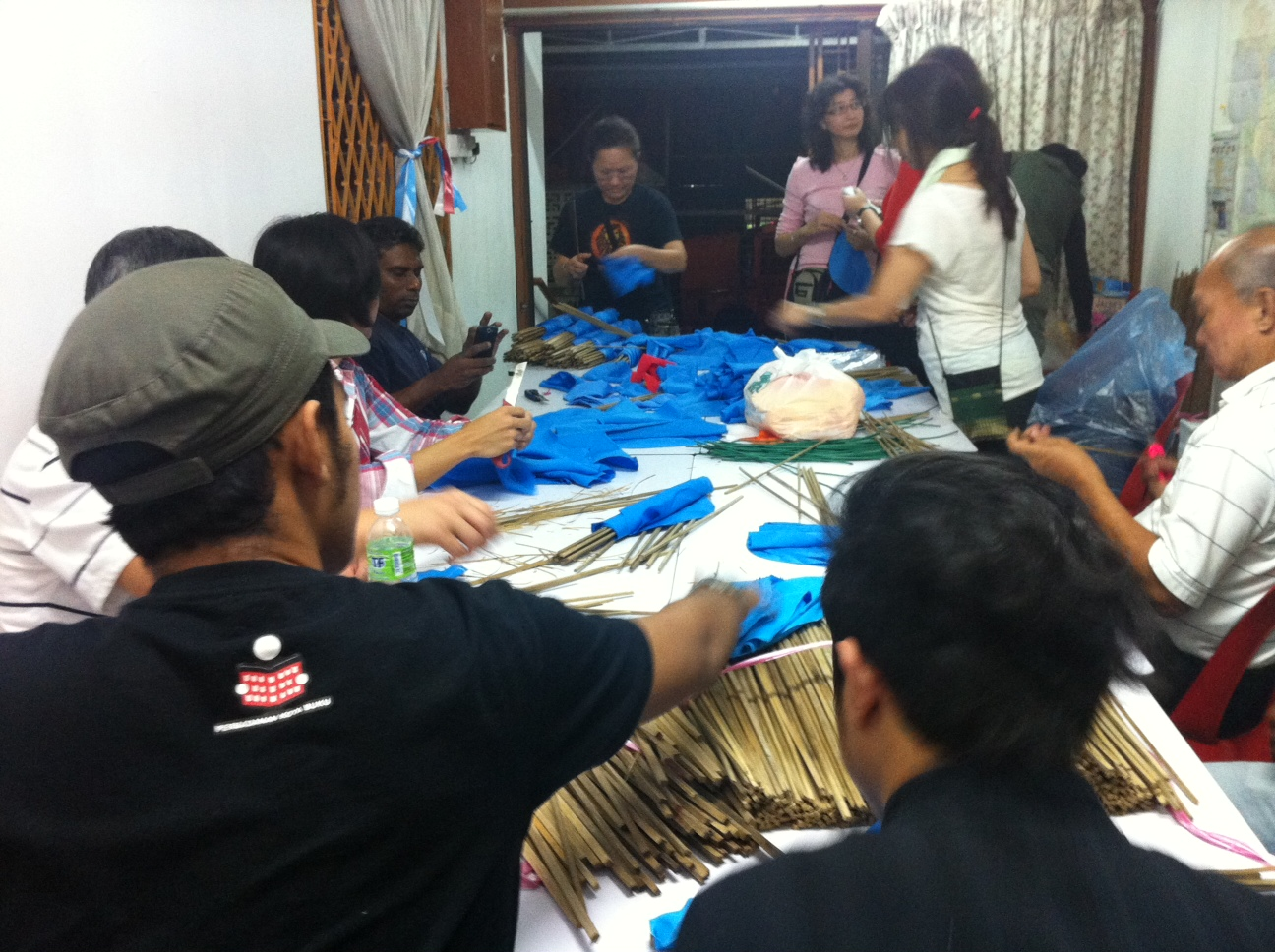 Malaysian Spring volunteers