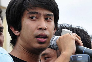 Student activist, Adam Adli arrested by police today