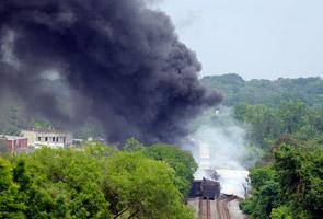 Kemalangan keretapi berulang di Amerika Syarikat