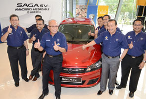 Proton unveils its most affordable Proton Saga