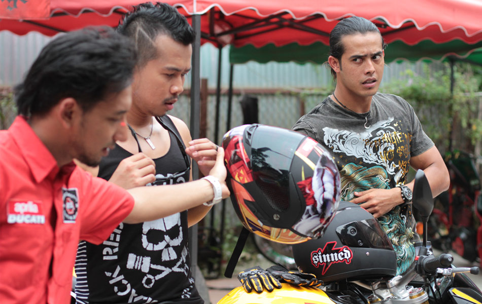 Bikers Kental Behind the scene Bikers Kental