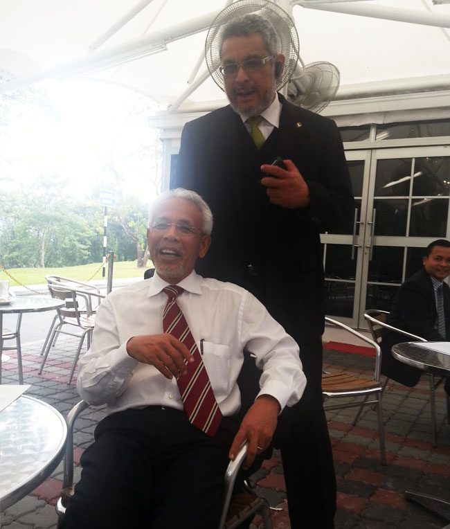 Shahrir and Khalid Samad