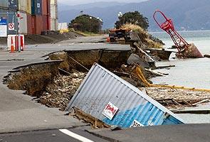 Gempa bumi melanda New Zealand