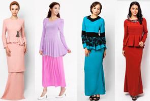 kali Syawal menjelang kita pasti akan melihat pelbagai fesyen baju ...