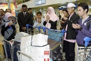 Pelajar Malaysia selamat pulang