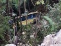 Imej kemalangan bas di Genting Highlands