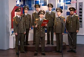 Video lagu 'Skyfall' nyanyian tentera Rusia semakin popular