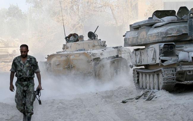 Chemical war, syria