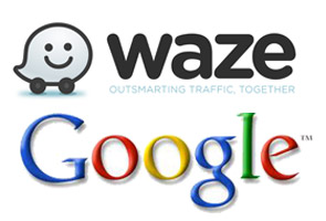 Waze traffic app integrated in Google Maps
