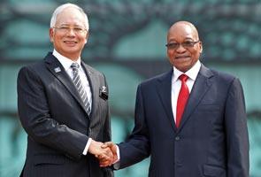 Presiden Afrika Selatan lawat Malaysia