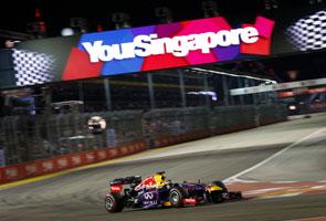 Sebastian Vettel ungguli Grand Prix Formula One Singapura