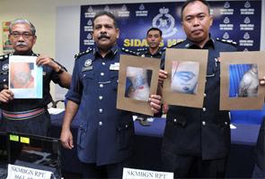Dua lelaki Geng 08 ditahan terlibat dalam pengedaran dadah dan senjata api