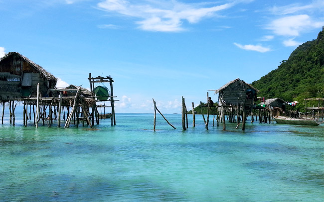 sea gypsies, bajau laut, semporna