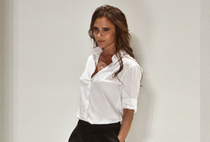 Victoria Beckham shows new hip, boyish spring look in NY