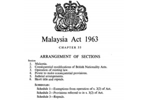 'Menilai semula Perjanjian Malaysia'-  ahli akademik