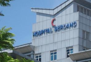 Siling Hospital Serdang runtuh, tiada kecederaan dilaporkan