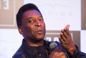 WORLD CUP: PELE PENS SONG FOR BRAZIL