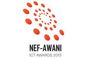NEF-AWANI ICT AWARDS 2013 Top 5 Bumiputera Champions announced