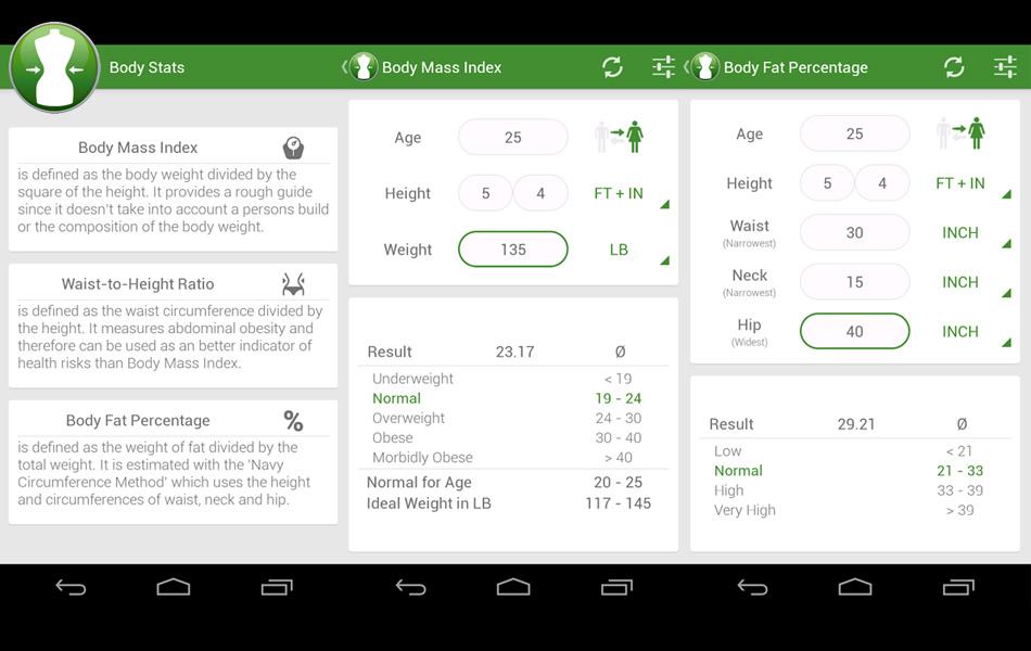 Aplikasi Kalkulator Berat Bayi Ideal