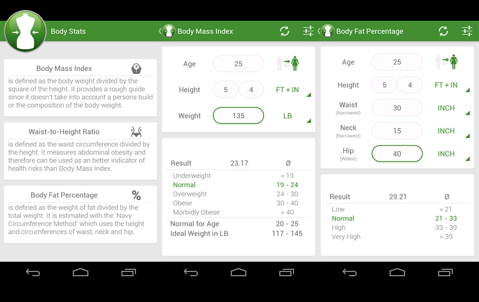 7 Cara Menghitung Berat Badan Ideal dengan Aplikasi di Android