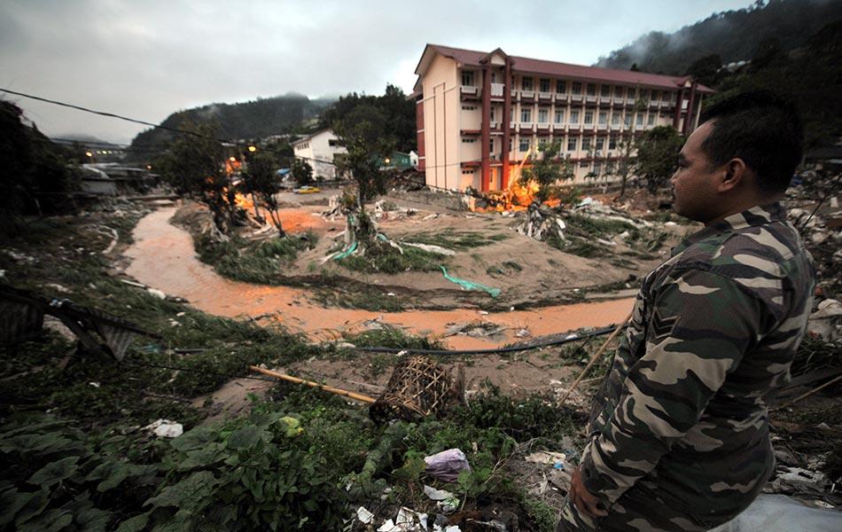 Cameron Highlands flash flood aftermath   Photos   Astro Awani