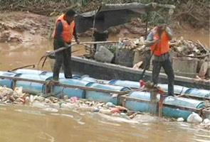 5 sungai dikenal pasti paling tercemar di negara ini