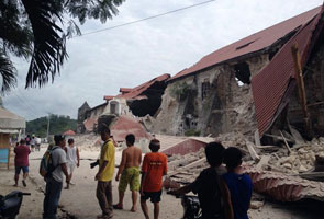 Gempa bumi kuat landa Filipina, 32 maut