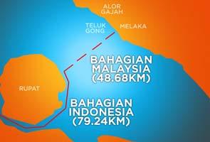 Cadangan pembinaan jambatan baru ke Indonesia