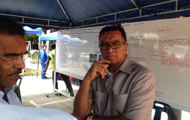 Datuk Ahmad Daud, Pegawai Daerah Cameron Highlands