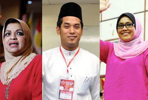 Khairy, Shahrizat dan Mas Ermieyati sah ketuai tiga sayap UMNO