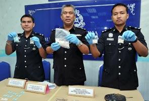 Polis tahan sepasang kekasih, rampas pil ecstasy