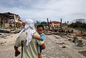 Mangsa taufan Haiyan berhadapan risiko penyakit