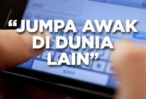 Anak Tan Sri bakar diri selepas hantar SMS terakhir kepada teman wanitanya