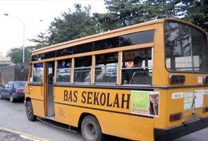 Awas! Anak anda mungkin diculik 'pemandu bas sekolah'