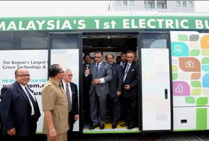Melaka perkenal bas elektrik mulai Januari 2014 - Idris Haron