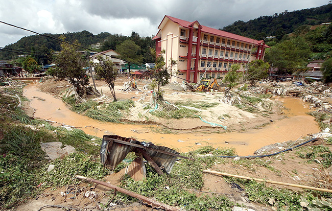 Cameron Highlands mud flood